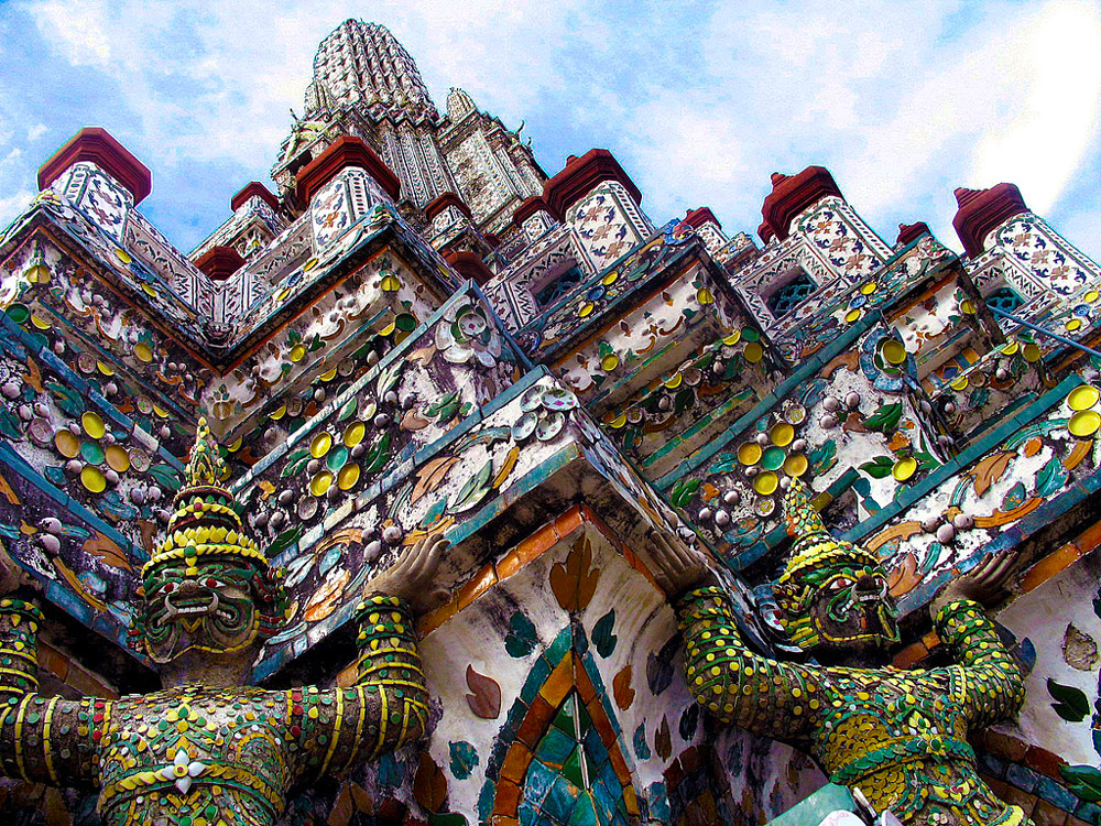 bangkok tour wat arun temple of dawn