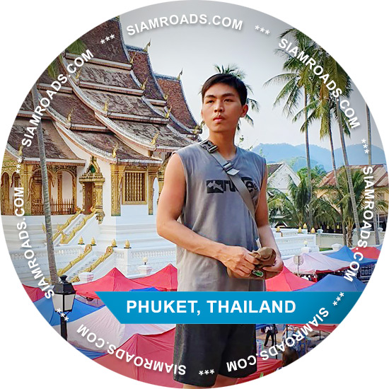 Tie guide on Phuket island